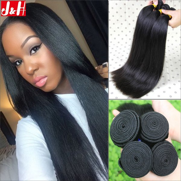 8a Indian Remy Hair Silky Straight 3human Hair For Weaves Mongolian