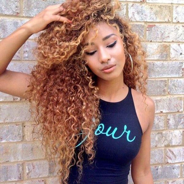 Best Blonde Human Hair Full Lace Wigs Virgin