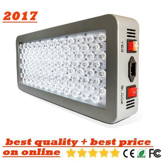 schnelles Schiff Platin-Reihe P300 600w LED wachsen füllen helles Wechselstrom-85-285V Doppeltes LED 12-Band DUALES VEG-BLUMEN-VOLLSPEKTRUM Geführte Lampenlichter