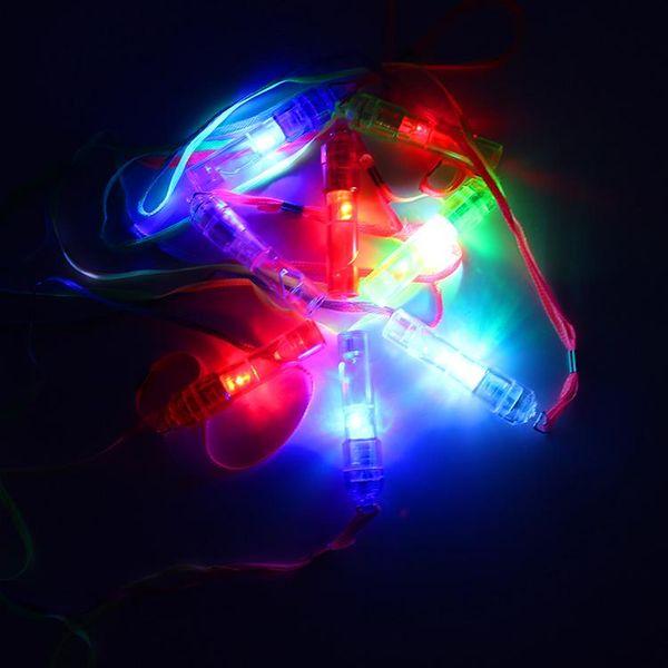 Halloween flash mouth emitting flashlight 288 KTV bars concert luminous whistle whistle activity supplies president