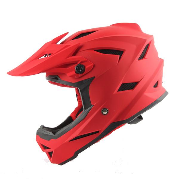 Wholesale- Free shipping, off road Motorcycle helmet, motorbike motocross Off Road racing /downhill bike helmet rock star cross ATV Bicycle