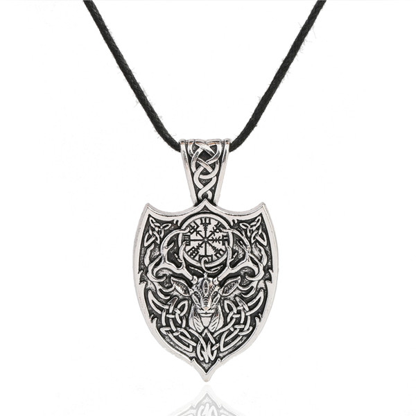 High Quality Vintage Style Pendant Kabbalah Wiccan For Jewelry Rope Necklace Free Shipping
