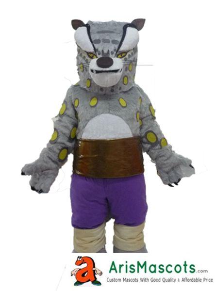 AM0629 Traje Da Mascote Do Tigre De Kungfu Trajes Da Mascote Dos Desenhos Animados para Crianças Festa De Aniversário Mascotes Personalizados em Arismascots Character Design Company