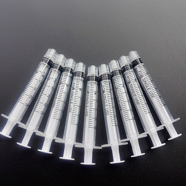 best selling 50 piece 3ml industry syringe without needles use for industrial injection