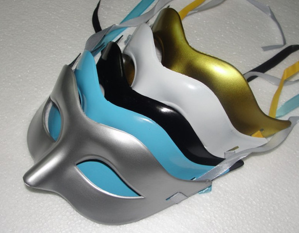 2018 hot sales Women Fahion Venetian Party Mask Roman Gladiator Halloween Party Masks Mardi Gras Masquerade Mask(Gold Silver White Black)