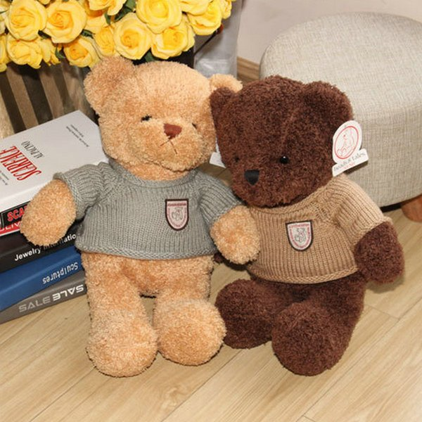 40pcs TEDDY BEAR Plush toys Hold pillow cartoon Stuffed Plush doll baby Gifts Creative cute doll Christmas birthday present Valentine's Day