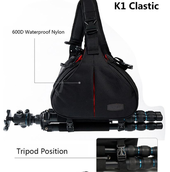 DSLR Kamera Umhängetaschen Video Foto Digital Sling Umhängetasche wasserdicht mit Regenschutz für Canon Sony Nikon Pentax K1 K2