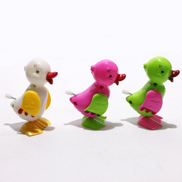 Wholesale chain duck on the chain of small duck clockwork toy chain animal series toys