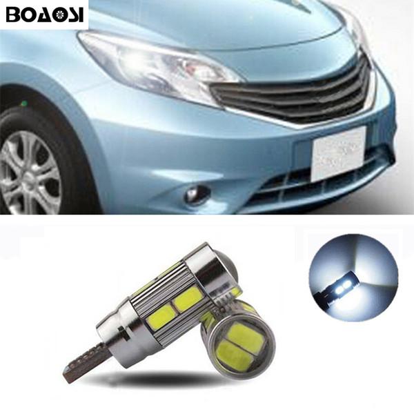 BOAOSI T10 5630SMD Nissan Qashqai Için LED Park Işıkları Sidelight Hiçbir Hata Juke Almera X-trail Tiida Not Primera Pathfinder Sentra