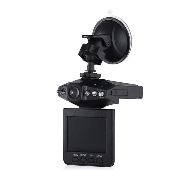 "2016 Hot Selling 2.4"" Car DVR 6 LED car detector Night Vision Recorder Dash Cam aircraft head car camera 270 angle Vehicle DVR 60pcs"