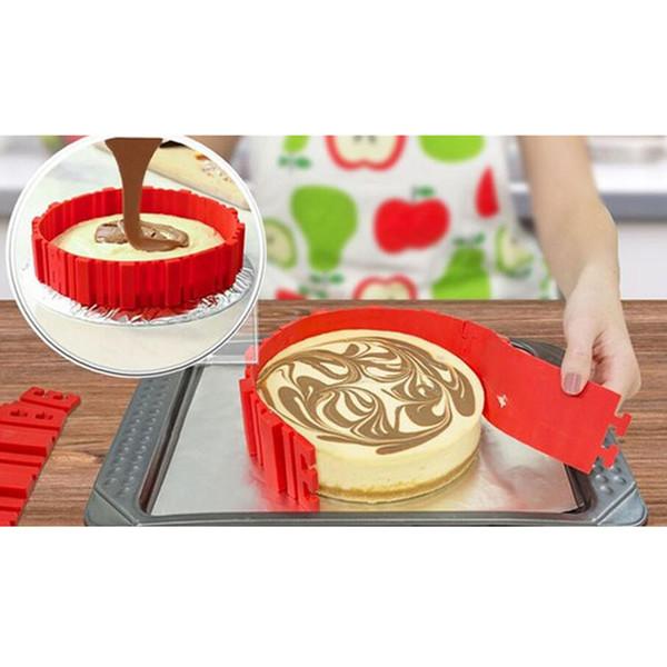Magic Bake Snakes Grade Silicone Bake All Cakes Cake Mould Tools 4PCS/SET