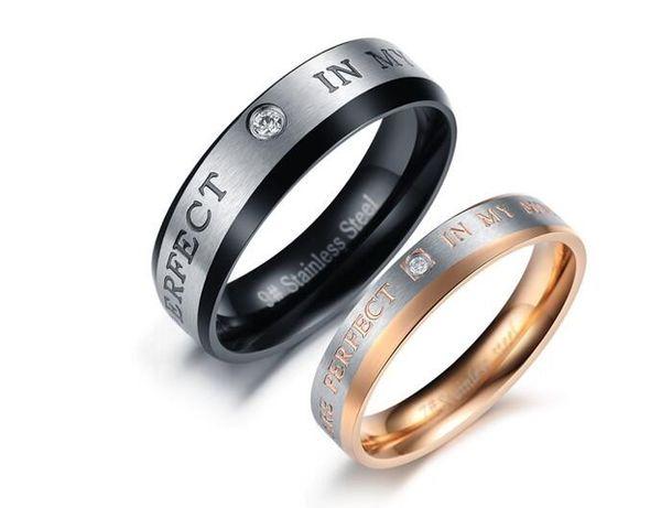 titanio acciaio gioielli Han amanti creativo cristallo di diamante anello di titanio acciaio alternative alla disciplina monastica buddista