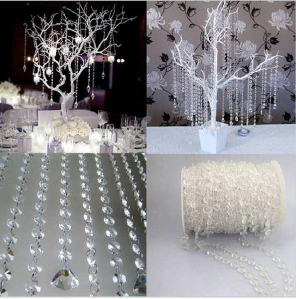5kgs Garland Diamond Acrylic Crystal Bead Curtain Wedding DIY Party Decor Home Living Room Bedroom Decoration