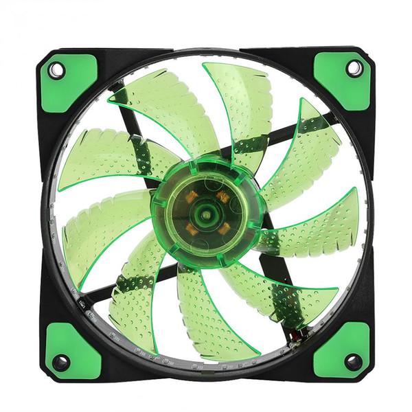 best selling Fans Radiating Heatsink Cooler Cooling Fan For Computer PC Heat sink 120mm fan 3 Lights 12V Luminous 3Pin 4Pin Plug