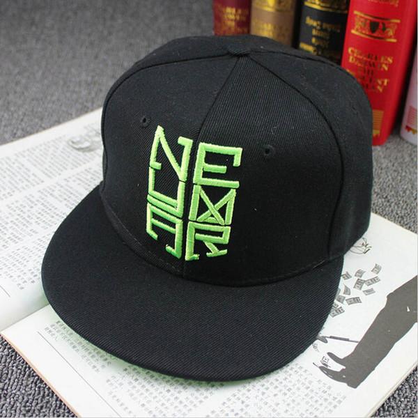New Fashion Hat Snapback Baseball Cap Neymar Flat Brimmed Black Baseball Cap Hats For Men Women Hip Hop casquette BA061