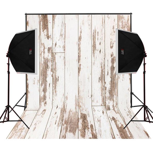 top popular dusty beige wood photo background for baby newborn studio props camera fotografica digital cloth vinyl photography backdrops 2019