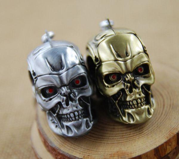 2017 New Brand Terminator Keychain Keyring Three-dimensional Punk Keyring Cool Skull Mask Key chains Accessories Cosplay