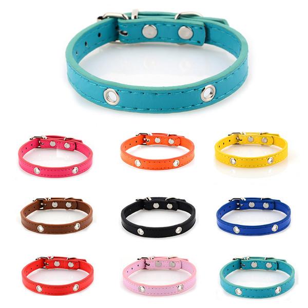 Heimtierbedarf Halskette geeignet für kleine mittlere große Hundehalsband DIY Blume Bogen Glocke Halskette bunte Kragen Band Metall 3 3yb H