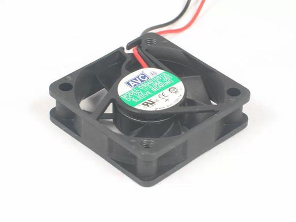 AVC DS04010S12L-003 DC 12 V 0.08A, 2-wire 2-pin konnektör 60mm, 40x40x10mm Sunucu Kare fan