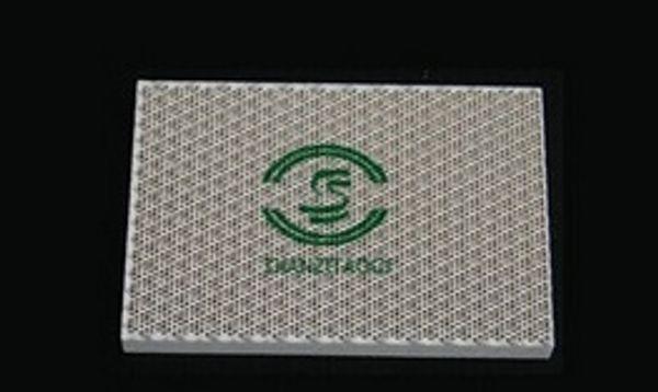132*92*13mm gas heater ceramic plate,infrared ceramic plate,gas oven plate Gasburner honeycomb ceramic plate factory direct