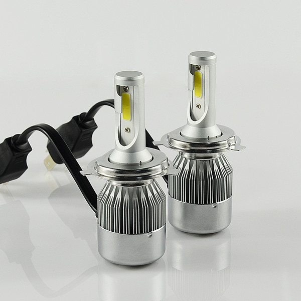 best selling 10 sets Shipping by DHL H4 H13 H11 9007 H7 Car LED Headlight Bulb 7600LM 6000k 72W Automobiles LED Headlamp ALL-IN-ONE Car Styling