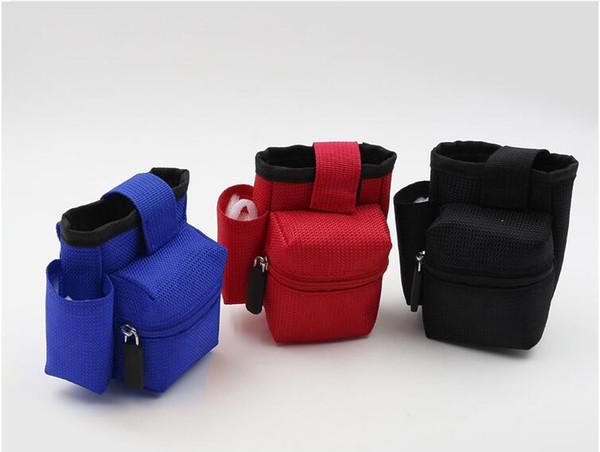 newest E cigarette Vapor Pocket E Cig Case Double Deck Vapor bag vape mod carrying case for Box Mod kit electronic cigarettes