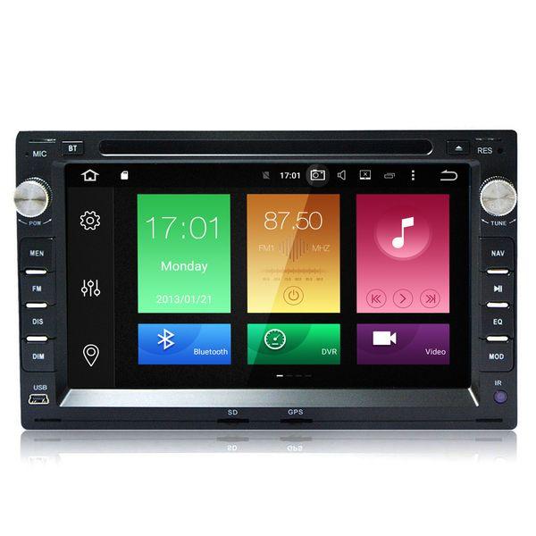 "7"" 2G RAM 8 Core Android Car DVD Auto Stereo For Volkswagen Jetta B5 Polo T5 Sharan Golf 1999-2005 GPS Navi OBD DVR Mirror Screen BT USB SD"