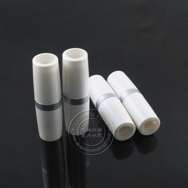 LP655 UV pearl white lip stick case empty lipstick container 500pcs/lot, 11.8mm inner cup diameter