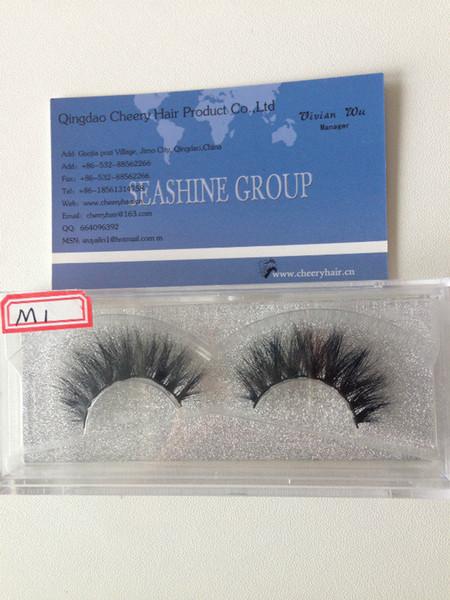 10Pairs 3D Natural Bushy Cross False Eyelashes Mink Hair Handmade Eye Lashes Charming Eyelash Extensions Factory wholesale