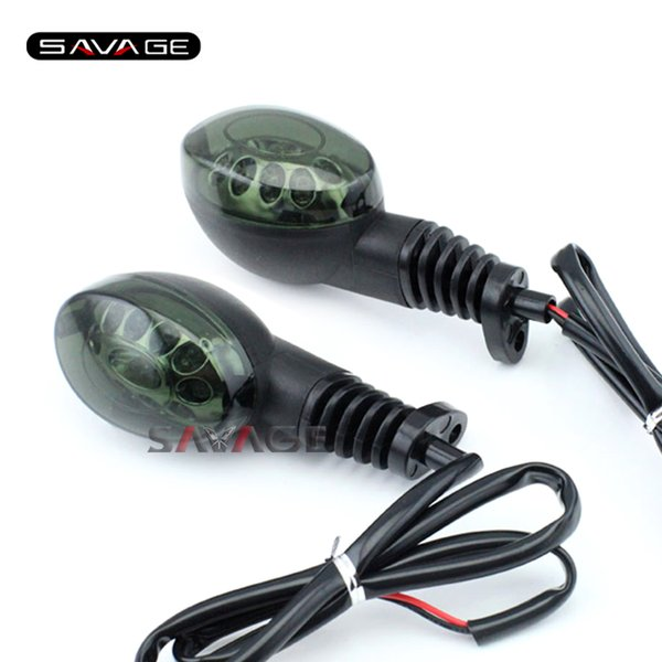 For KAWASAKI EX250 NINJA 250/250R / KLX250 SF Motorcycle Accessories Front/Rear LED Turn Signal Indicator Light Blinker Lamp S