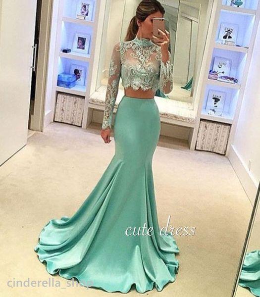 Blaues kleid illusion