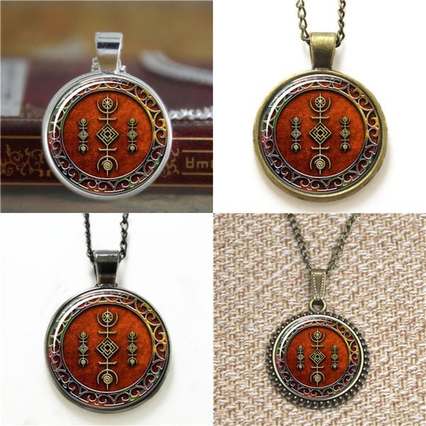 10pcs Druid Sigil of the Cosmos Pendant Necklace keyring bookmark cufflink earring bracelet
