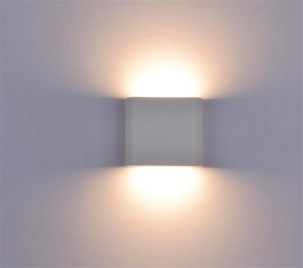 Lampada da parete impermeabile IP65 6W 10W LED COB Luce da parete per interni Decorazione Camera da letto Accanto al corridoio Illuminazione del giardino