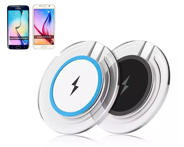 High Quality Qi Wireless Charger Charging For Samsung S6 Edge s7 edge s8 plus iphone 8 X Fantasy High Efficiency pad DHL Free