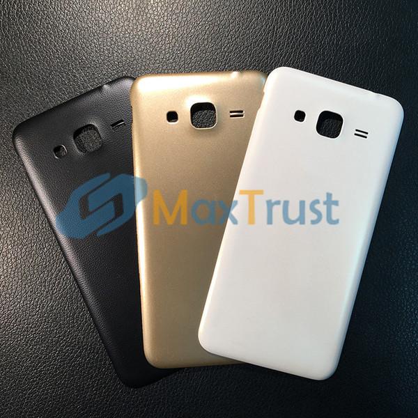 nice cheap online store official site Housses Téléphones Portables Top Qualité Pour Samsung Galaxy J3 2016 J320  Couvercle De Batterie Arrière Arrière Logement Logement Avec Logo Noir  Blanc ...