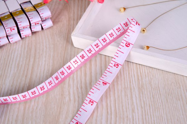 top popular 150cm length measuring tools multifunctional soft plastic tape measures sewing tailor fitness measuring body feet ruler gauging tools 2021