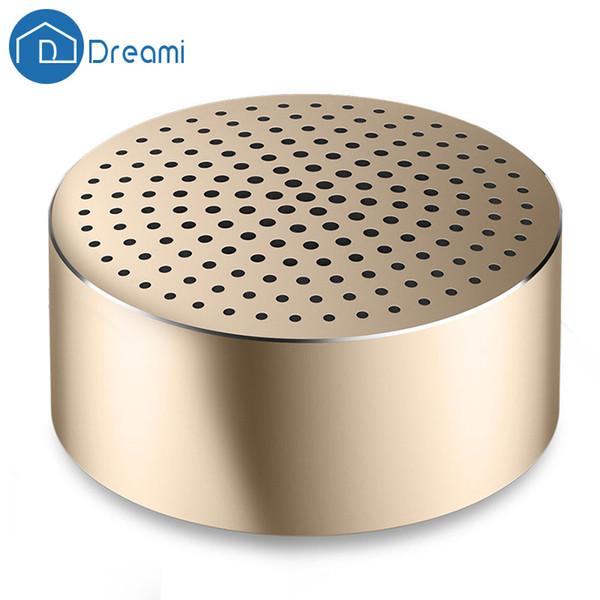 Wholesale- Dreami Original Xiaomi Mi Portable Bluetooth Speaker 4.0 Wireless Speaker Mini Round Loud Sound For Smart Phone Tablet PC
