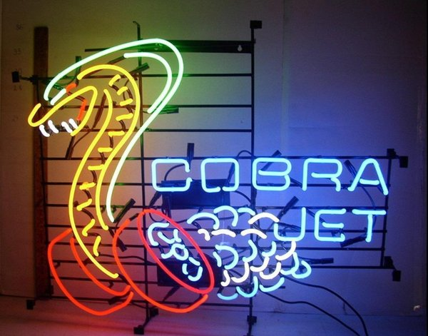 Neon Light Sign. LED sign led bulb LOVE Neon Beer Sign Bar home Sign New Cobra Jet Snake Car Auto Man Cave Neon