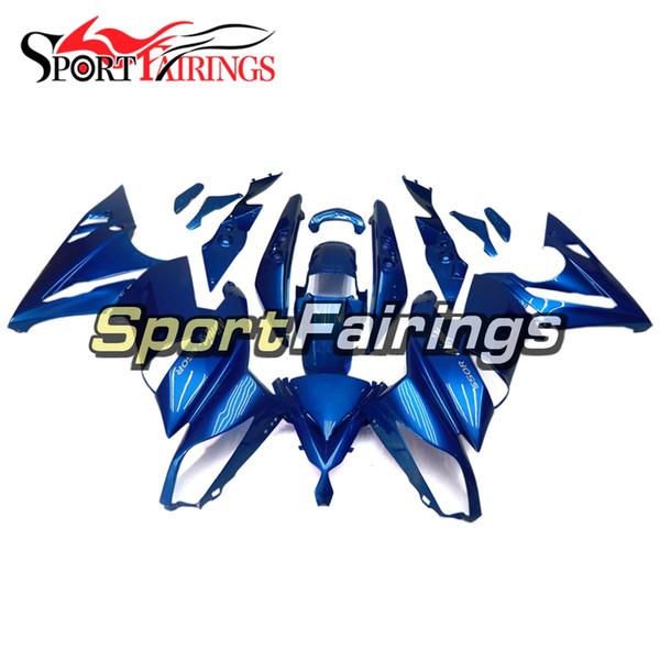 Full Fairings For Kawasaki ER-6f Ninja 650 09 10 11 ER6f 2009-2011 ABS Plastic Motorcycle Fairing Kit Body Frames Cowlings gloss Blue New