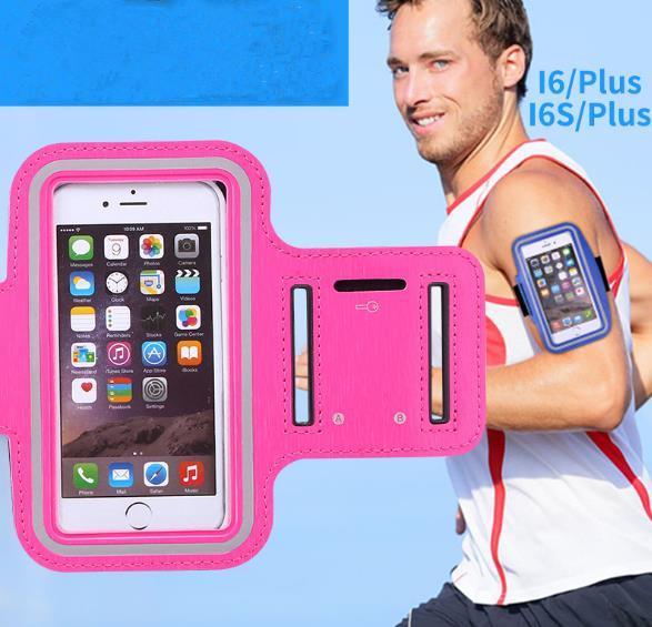 040c75f0b96 Para Iphone 8 X deportes a prueba de agua funda para correr brazalete bolsa para  correr
