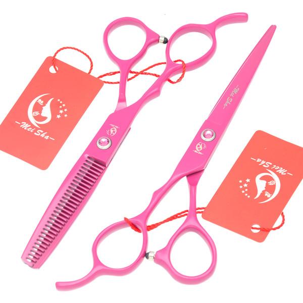 5.5Inch 6.0Inch Meisha Left-Handed Hair Cutting Scissors Left Hand Hairdressing Scissors Hot Barber Salon Scissors Thinning Shears,HA0131