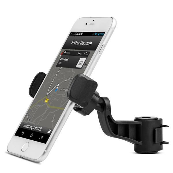 Evrensel Araç Tutucu Hava Firar Dağı Klip Standı Ayarlanabilir Dönen Kafalık iPhone Samsung Galaxy LG Huawei Mini Tablet Telefon