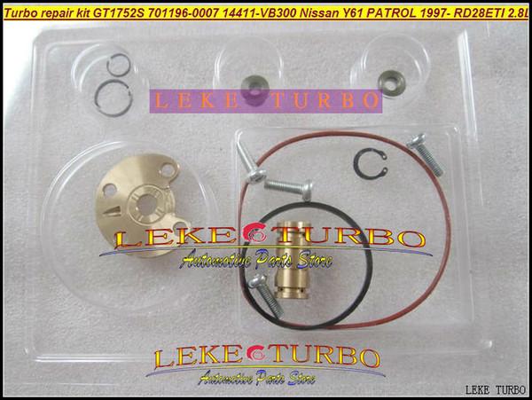 Turbo repair kit rebuild kits GT1752S 701196-0002 701196 14411-VB301 Turbocharger For NISSAN Y61 PATROL 97- RD28Ti RD28ETI 2.8L