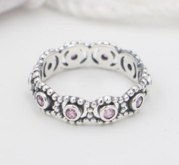 Argent Sterling 925 Fleur Rose Ouvert Anneaux Pour Femmes Haute Qualité fashion style