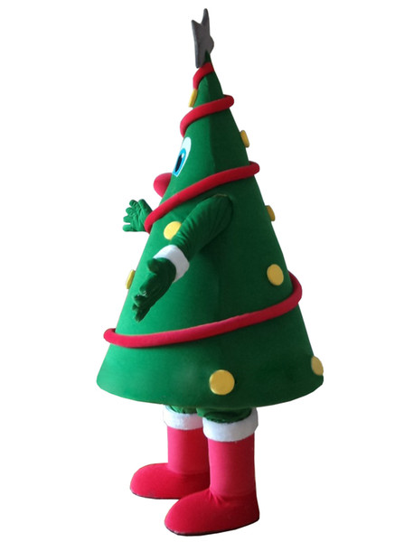 Christmas Tree Costume.Latest High Quality Export High Quality New Design Christmas Tree Mascot Costumes Fancy Dress Do Outfit Greek Costumes Saloon Girl Costume From Junn