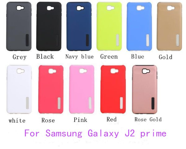 official photos 1d819 46571 For Samsung Galaxy J2 Prime Grand Prime J5 Prime ON5 2016 A7 2017 Hybrid  Dual Layer Armor Case Protective Back Case Shockproof Cover Jeweled Cell ...