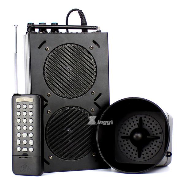 85 W 1500 m control remoto inalámbrico de caza del ganso digital al aire libre Bird Calller reproductor de MP3 Trap Hunt Pigeon Decoy Dual Mini altavoz