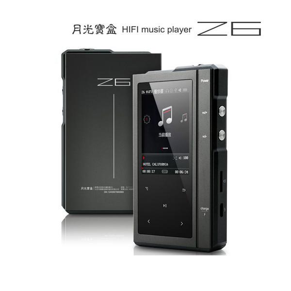 Gros-2016 Original Moonlight AIGO Z6 Dur Lecteur MP3 DSD CS4398 DAC Hifi Lecteur de musique Processeur Dual-Core Avec Carte TF 32G + Housse En Cuir