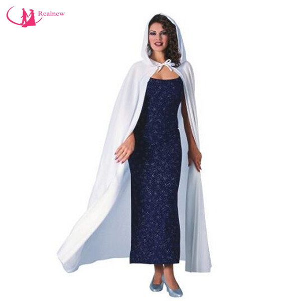 2016 Autumn New Design Chiffon Cape Hooded Long Length Cloak Wholesale Price Exclusive Brand Custom Made