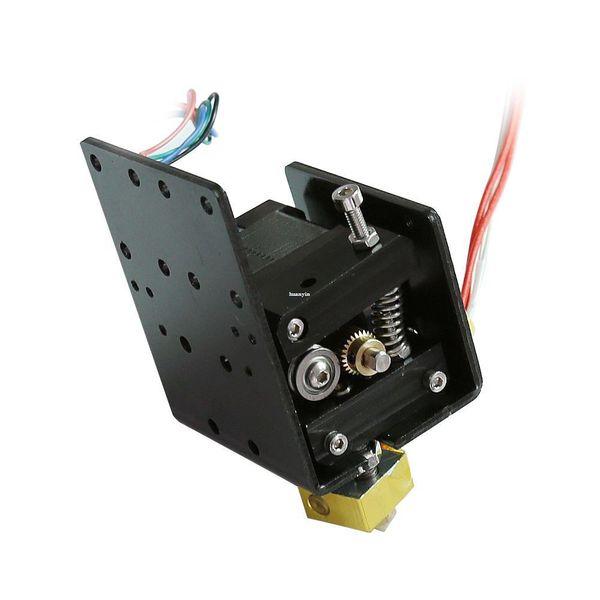 Freeshipping 1 set 3d printer Parts Head MK8 Extruder Motor J-head Hotend Nozzle Feed Inlet Diameter 1.75 Filament Extra Nozzle